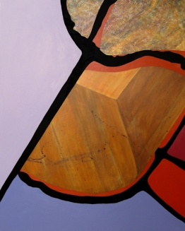"Ruth, acrylic on panel 24"" x 30"""