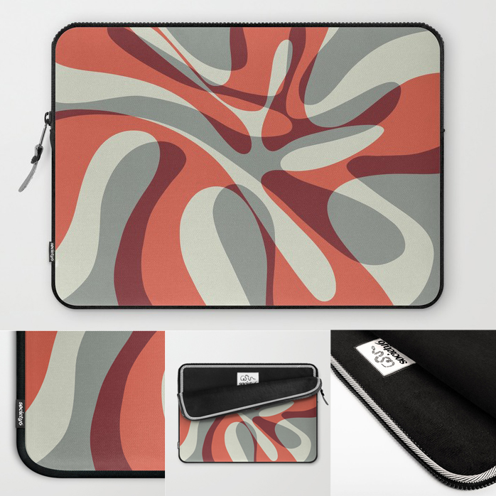 "Wave is now available on 13"" and 15"" form fitting, lightweight sleeves from Society 6"