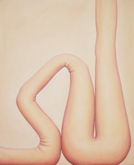 """""""Love,"""" 48"""" x 60"""", acrylic on canvas, 2004"""